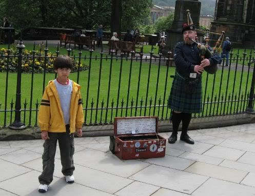 To transform our energy infrastructure we are going to have to create policies and economic drivers for change that are much more reliable than the income this bagpiper can derive from the whims of passersby.