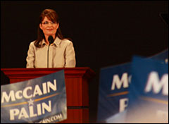 Sarah Palin. Photo:Kiichiro Sato / AP