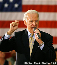Joe Biden. Photo: Mark Stehle / AP