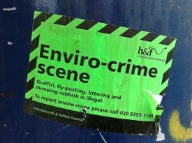 Enviro-crime scene