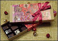 box of Theo chocolates