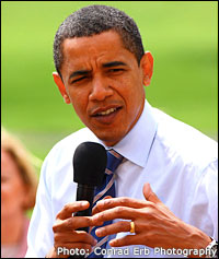 Barack Obama. Photo: Conrad Erb Photography
