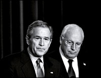 George Bush and Dick Cheney