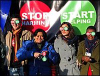Stop Start. Photo: oxfam international via Flickr