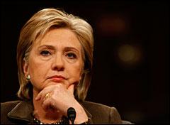 Hillary. Photo: Gerald Herbert / AP
