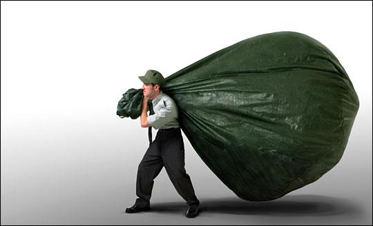 Big bag of mail