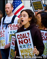 No coal. Photo: Jeffrey Dubinsky via Flickr