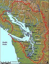 Salish Sea map