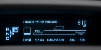 Hybrid Synergy drive display