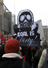 Coal is dirty