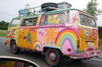 Deadhead bus.