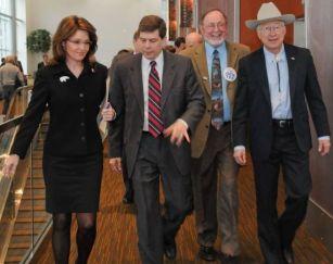 Palin with Salazar