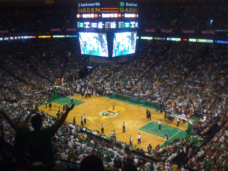 NBA basketball stadium