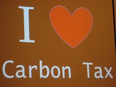 I love carbon tax