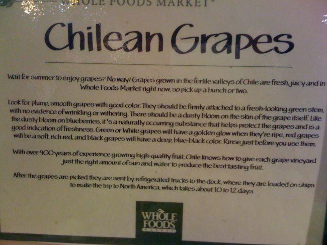 Whole Foods, signage