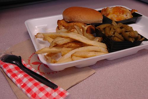 Fishburger.