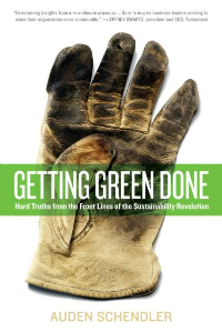 Getting Green Done book