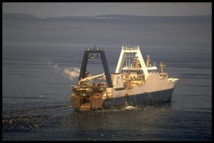 Fishing vessel.