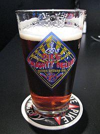 Pike Pub pint of beer