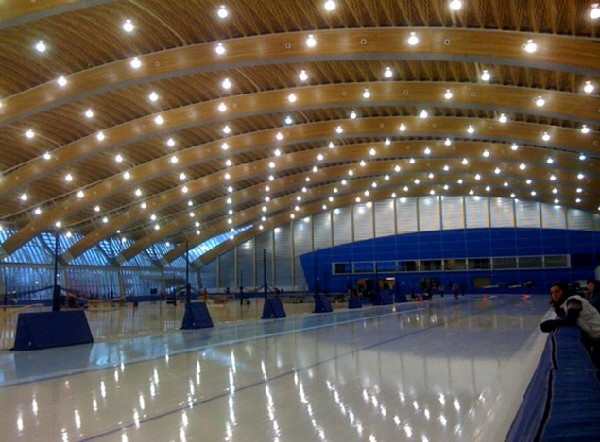 Vancouver Olympics speed skating rink