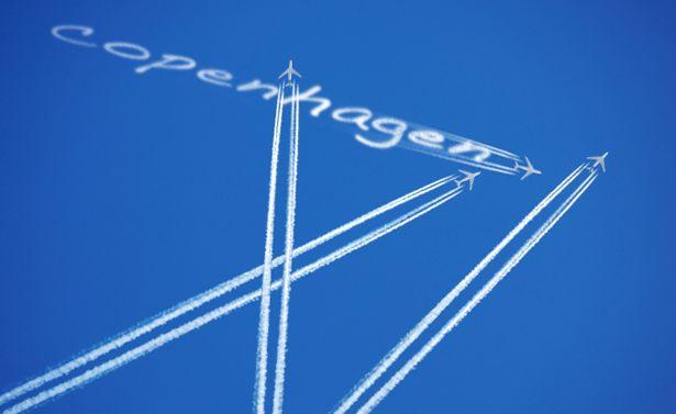 flying to copenhagen
