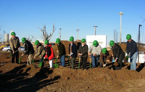 Greensburg groundbreaking