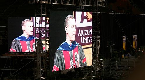 Obama on screen