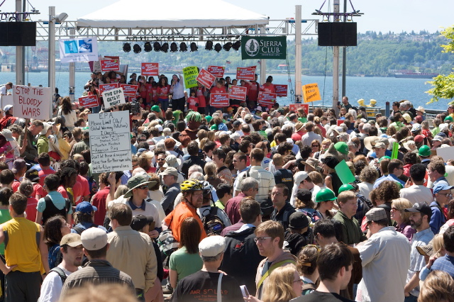 EPA rally in Seattle