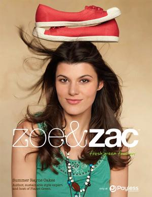 Summer Rayne shoe ad