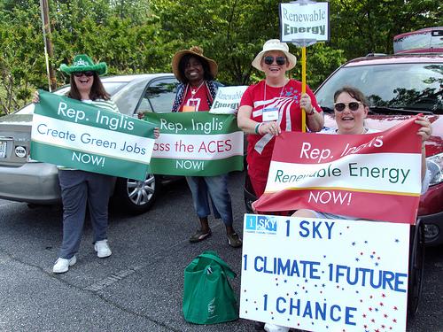 1sky activists in South Carolina