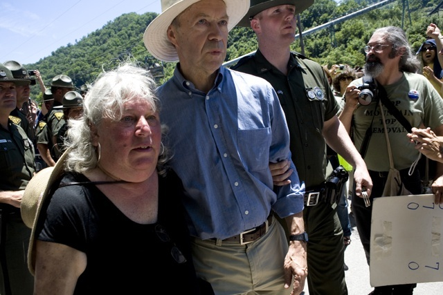 June 23 mountaintop removal protest