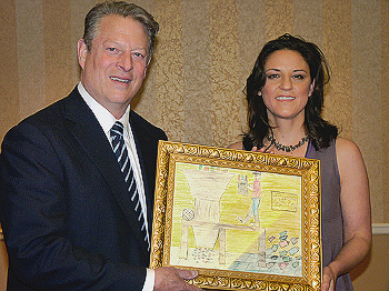 Al Gore and Mai Iskander