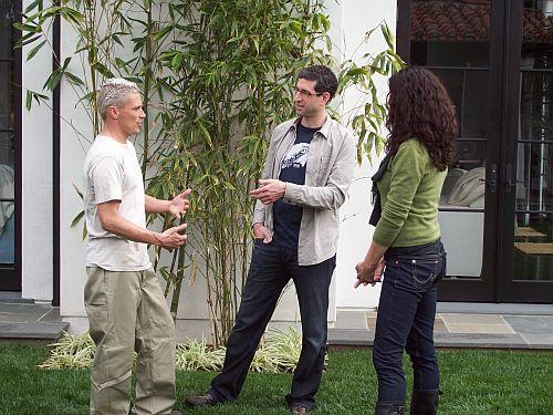 Josh Dorfman during filming