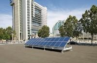 SunPod solar array on a roof