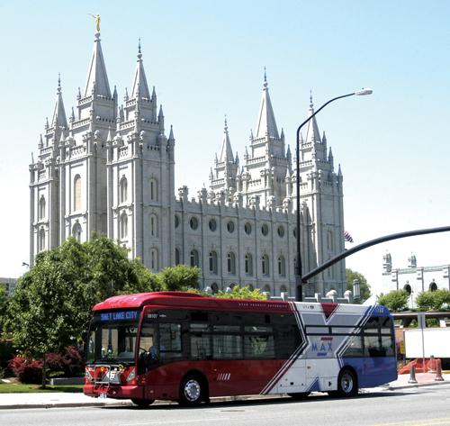 Salt Lake City bus