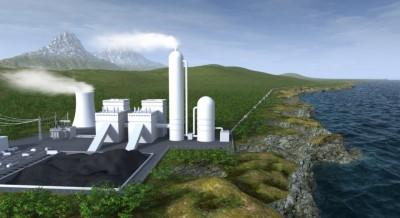 CCS power plant