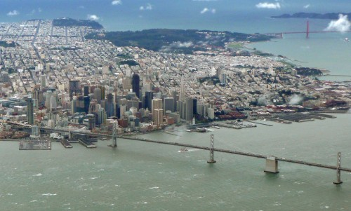 san francisco aerial view