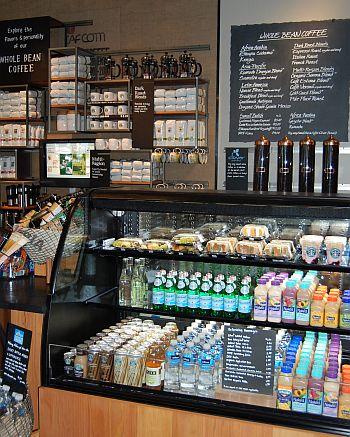 University Village Starbucks interior