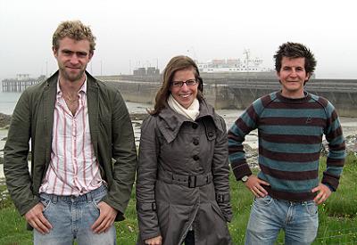 Atlantic Rising's three-person team.
