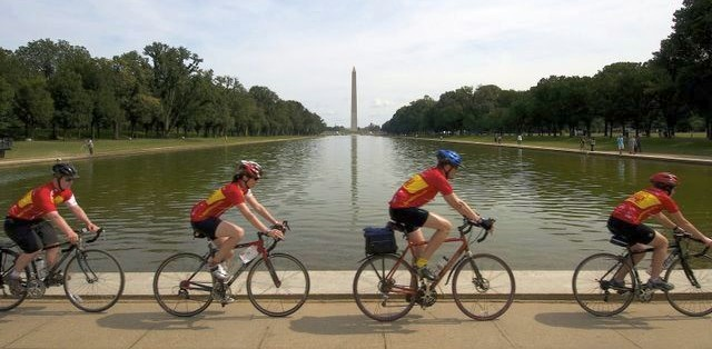 Climate Riders in D.C.