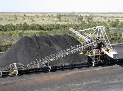 Coal mine in Queensland Australia