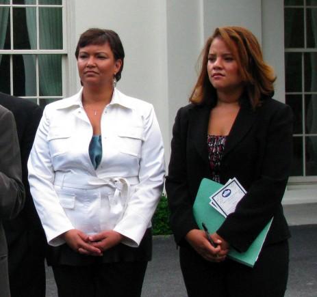 Lisa Jackson and Phaedra Ellis-Lamkins