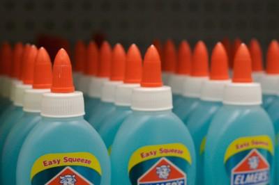 Elmer's glue bottles