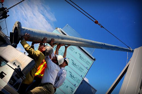 installing PDX turbine