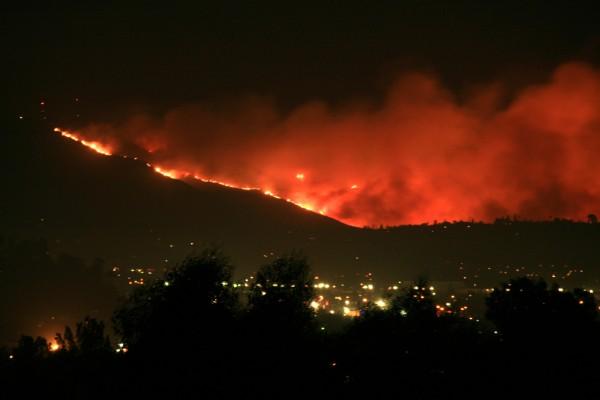 san diego wildfires