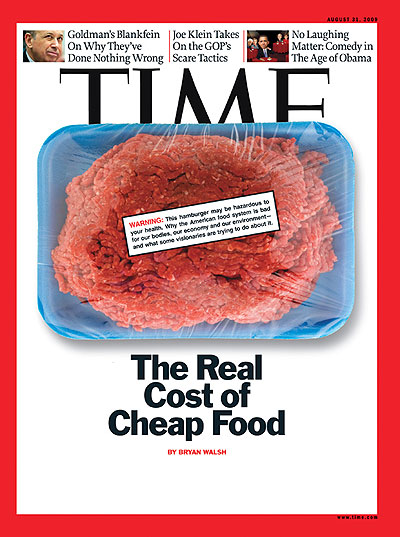 TIME magazine food cover