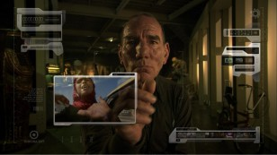 Pete Postlethwaite looks back from the future at today's news in film The Age of Stupid
