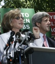 Senators Boxer and Kerry to introduce the Senate climate bill