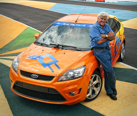 Jay Leno and electric Ford Focus