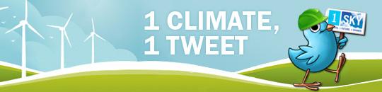 1Climate, 1Tweet